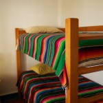 Room Two: Double-bed plus bunk beds